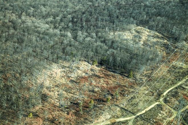 Ridge Road Cut 3